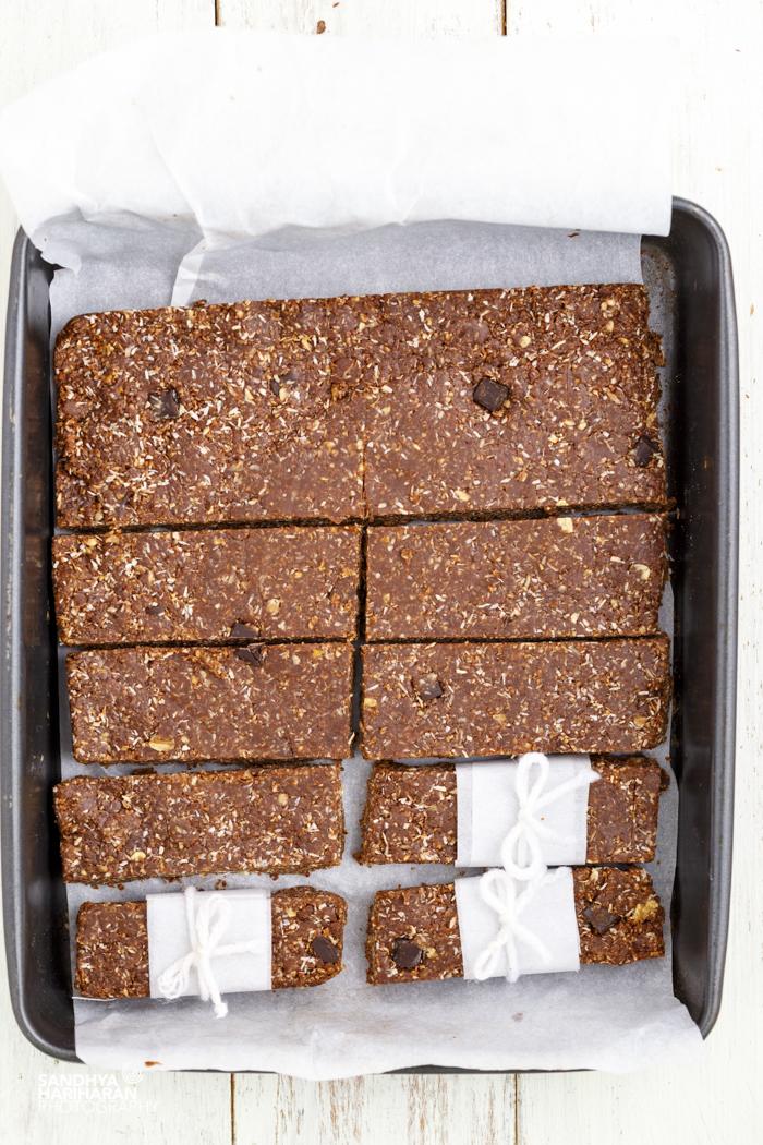 oats chocolate granola bar (3 of 13)