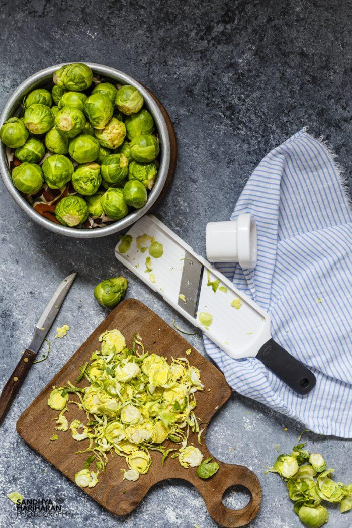 Shredded-Brussel-Sprouts-With-Lemon-Vinaigrette