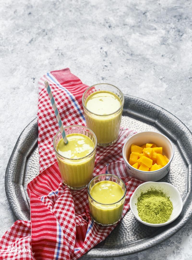 Matcha Mango Smoothie