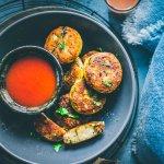 Aloo Tikki Recipe  { Indian Potato Cake }