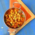 Chole Puri with Onion-Cucumber raitha