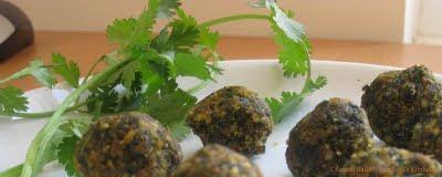 Cilantro Balls – Kothamili thogayal