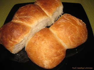 My first bread – Pav