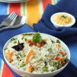 Simple Pulao | Pilav | Pilaf Rice – A vegetable Medley Indian rice