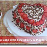 Madeira Cake with Strawberry & Mascarpone