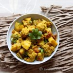 Aloo Gobi | Dry Potato Cauliflower Curry