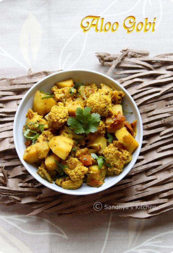 Aloo Gobi | Dry Potato Cauliflower Curry