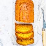eggless mango cake recipe image