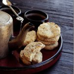 Sandhya's Kitchen presents E-Curry | Almond Rosemary and Pepper Crackers