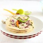 Onion Uttappam – Onion Lentil Pancake | South indian Breakfast