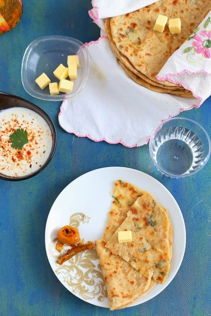 Aloo Paratha | Potato Flatbread