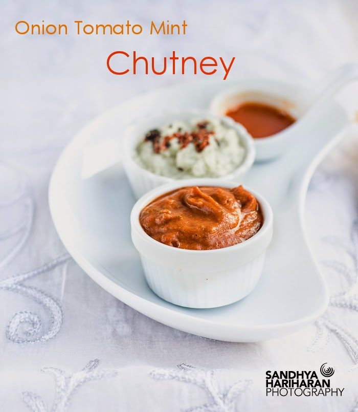 Onion Tomato Mint Chutney