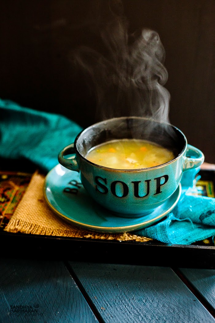 Mixed Vegetable Clear Soup