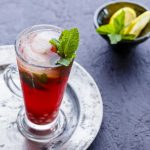 Pomegranate Mojito  #mocktail #appletiser