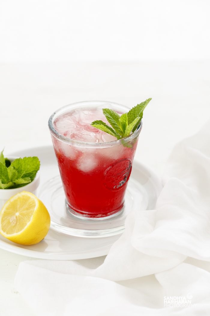 Blackcurrant Apple Mocktail
