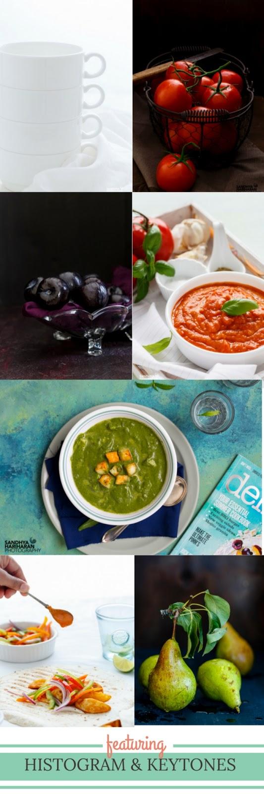 Food Photography – Histogram & Key Tones