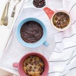 2 Minute Eggless Chocolate Brownie in a Mug