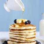 Fluffy American Pancakes #pancakeday