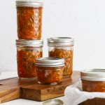 Zesty Tomato Salsa for Canning