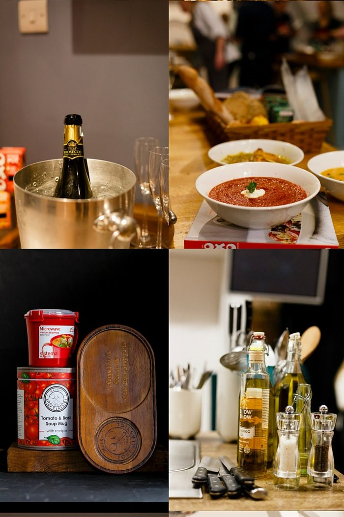 Disco Souping with OXO