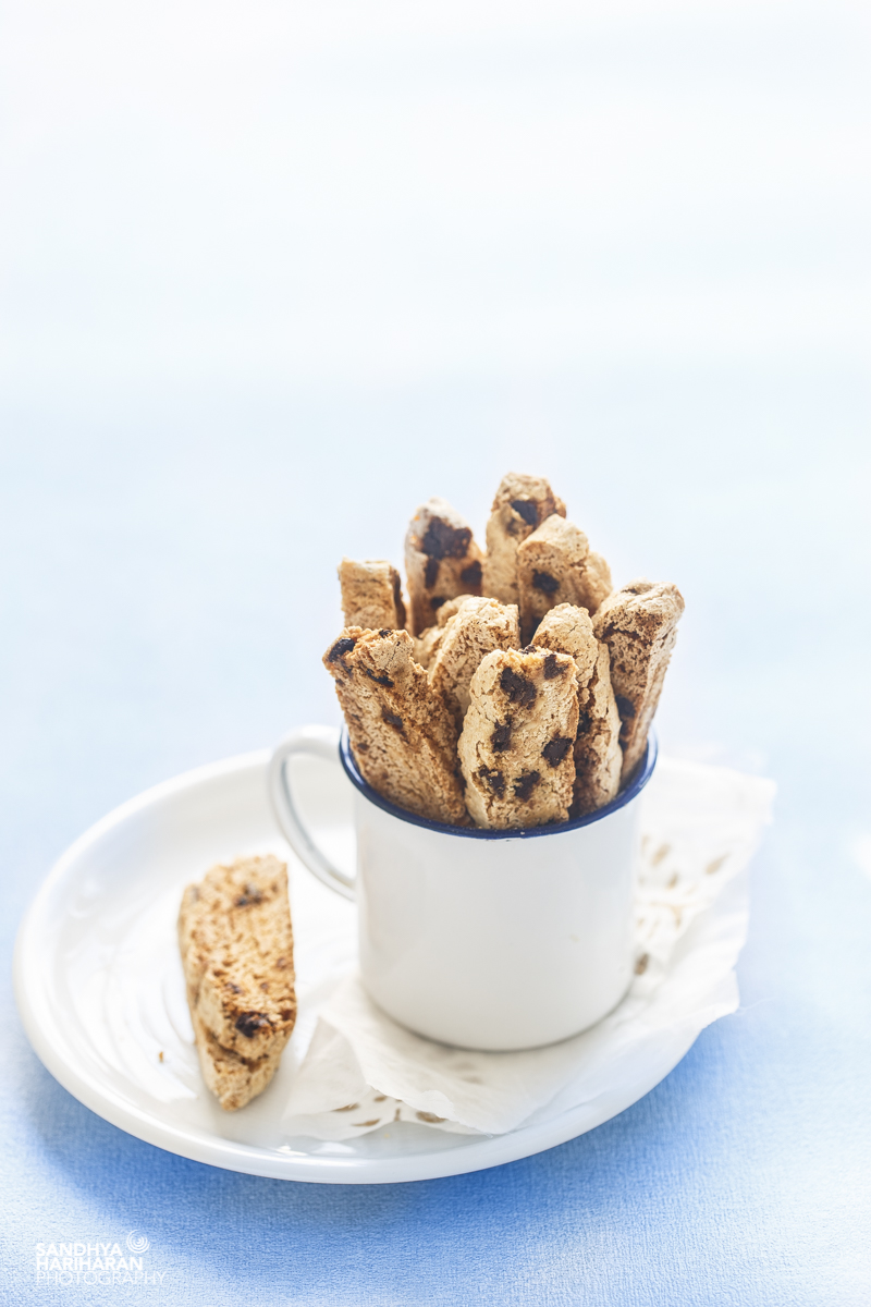 Chocolate Chips Almond Biscotti