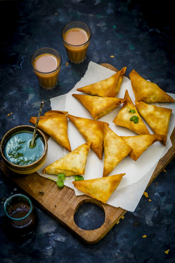 Potato and Peas Samosa #AirfryerTakeIn