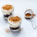 Easy 10 Minutes Chocolate Tiramisu in Jars. Its Eggless too !