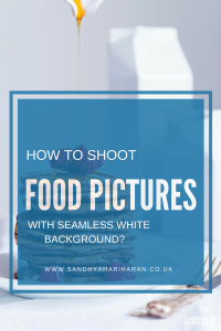 Shoot Food Pictures on White Background