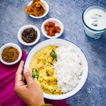 Pressure Cooker Molagootal { Vegan SouthIndian Mixed Vegetable Curry }