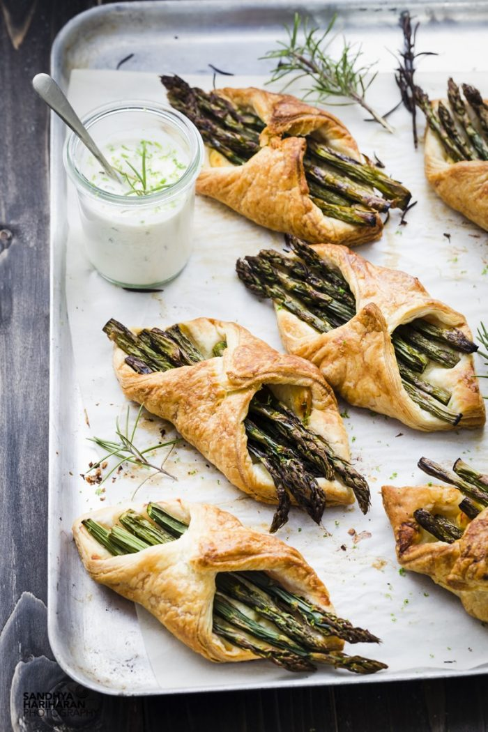 Asparagus Puff Pastry