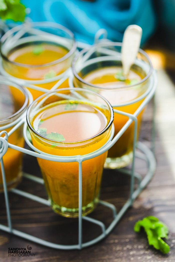 Tomato Rasam | South Indian Tomato Soup