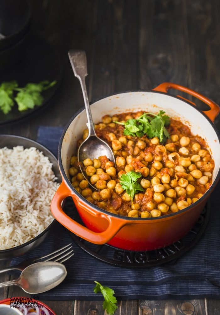 quick and easy chana masala