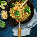 Vegetarian Pad Thai Noodles