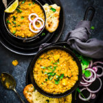 Butternut Squash Red Lentil Dal + Video Tutorial